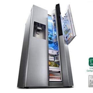 Koel-vriescombinatie LG GS9366NECZ
